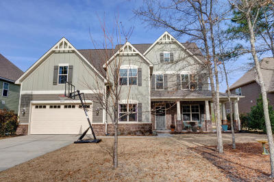 Sneads Ferry Single Family Home For Sale: 405 Harlequin Court
