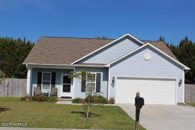 Swansboro Single Family Home For Sale: 257 Channel Marker Loop