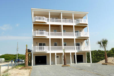 North Topsail Beach, Surf City, Topsail Beach Condo/Townhouse For Sale: 810 Villas Drive