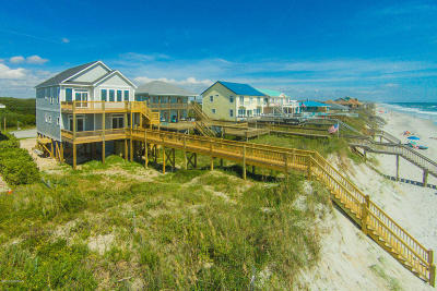 North Topsail Beach, Surf City, Topsail Beach Single Family Home For Sale: 1212 S Shore Drive