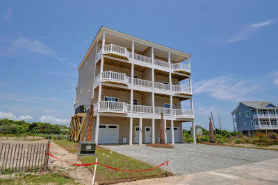 North Topsail Beach, Surf City, Topsail Beach Condo/Townhouse For Sale: 842 Villas Drive