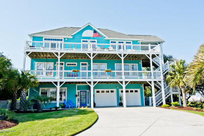 Emerald Isle Single Family Home For Sale: 105 Brigantine Court