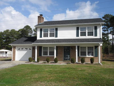 Jacksonville Single Family Home For Sale: 301 Greenbriar Drive