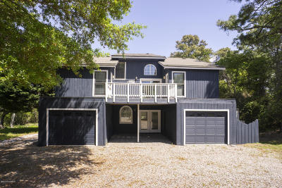 Oak Island Single Family Home For Sale: 204 Elizabeth Drive