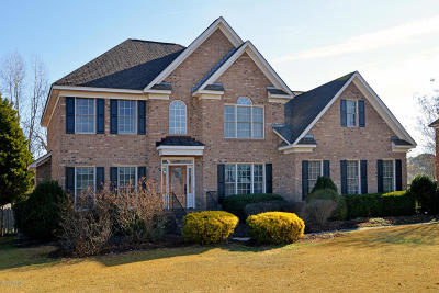 Greenville Single Family Home For Sale: 1715 Woodwind Drive