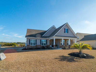 Calabash Single Family Home For Sale: 1224 Fence Post Lane