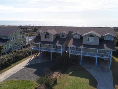 Holden Beach Single Family Home For Sale: 1275 Ocean Boulevard W #A