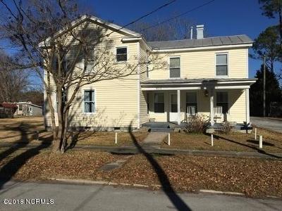 New Bern Rental For Rent: 802 N B Unit 3 Street