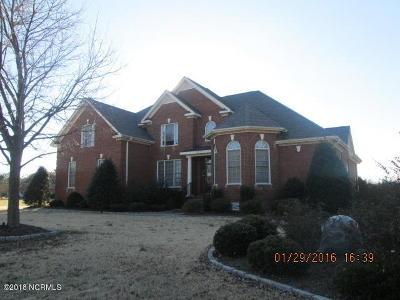 Elm City Single Family Home For Sale: 5813 Castle Court