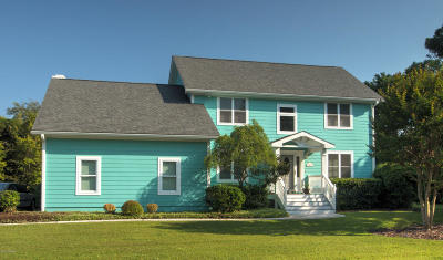 Emerald Isle Single Family Home For Sale: 201 Sandfiddler E