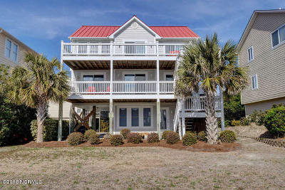 North Topsail Beach, Surf City, Topsail Beach Single Family Home For Sale: 104 Katelyn Drive