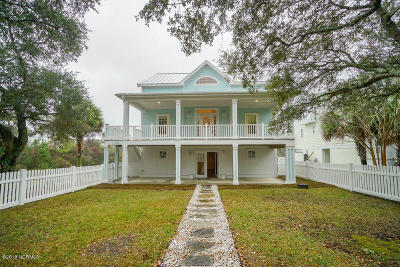 Oak Island Single Family Home For Sale: 109 SE 36th Street