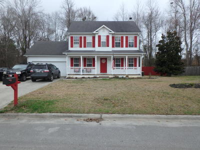 Jacksonville Single Family Home For Sale: 105 Fall Drive