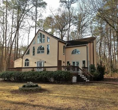 Oriental Single Family Home For Sale: 4014 Schooner Circle