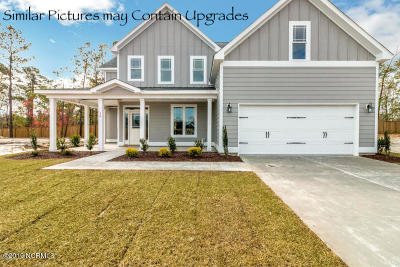 Jacksonville Single Family Home For Sale: 125 Saw Grass Drive #Lot 194
