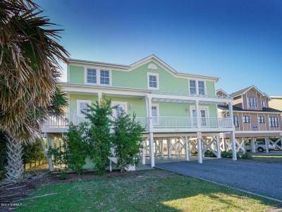 Holden Beach Single Family Home For Sale: 135 Ocean Boulevard W