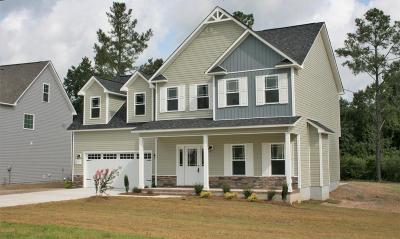 Sneads Ferry Single Family Home For Sale: 121 Bridgeport Drive