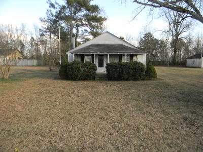 Greenville NC Single Family Home For Sale: $84,900