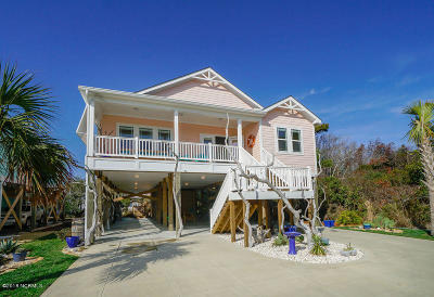 Oak Island Single Family Home For Sale: 125 SE 76th Street