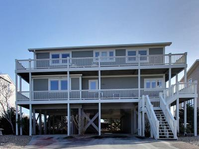 Holden Beach Single Family Home For Sale: 1315 Ocean Boulevard W