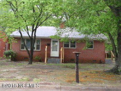 Edgecombe County Single Family Home For Sale: 1415 Cypress Street