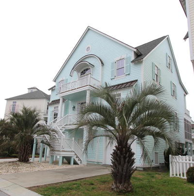 Atlantic Beach Single Family Home For Sale: 115 Sound Side Drive
