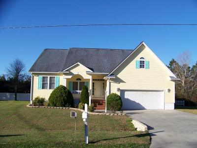 Beaufort Single Family Home For Sale: 125 Pearl Drive