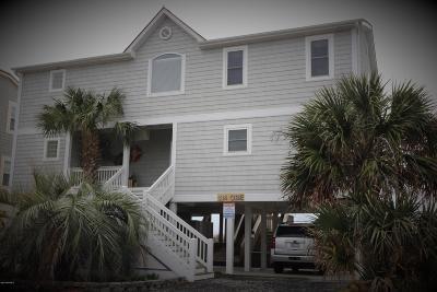Holden Beach Single Family Home For Sale: 134 Ocean Boulevard E