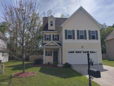 Sneads Ferry Single Family Home For Sale: 437 Bald Cypress Lane
