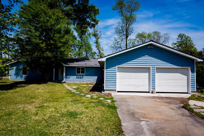Morehead City Single Family Home For Sale: 737 N Forty Road