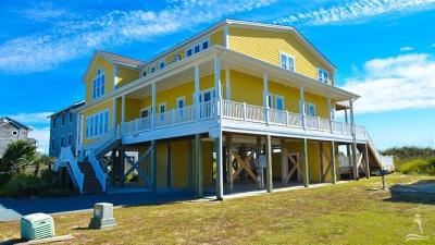 Holden Beach Single Family Home For Sale: 1023 Ocean Boulevard W