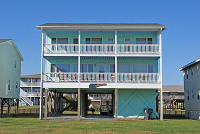 Holden Beach Single Family Home For Sale: 149 Ocean Boulevard E