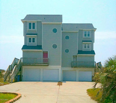 North Topsail Beach, Surf City, Topsail Beach Condo/Townhouse For Sale: 1176 New River Inlet Road