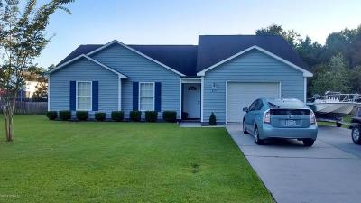 Swansboro Single Family Home For Sale: 815 Main Street
