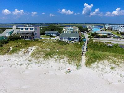 North Topsail Beach, Surf City, Topsail Beach Single Family Home For Sale: 1001 N Anderson Boulevard