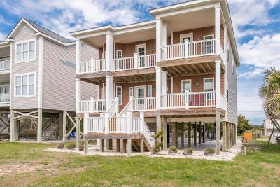 Oak Island Single Family Home For Sale: 3318 W Beach Drive