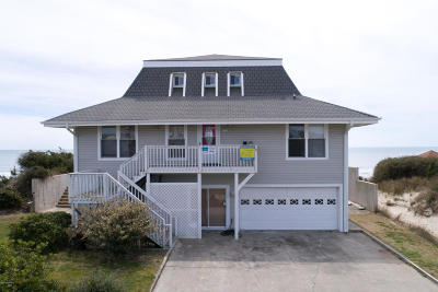 Emerald Isle Single Family Home For Sale: 7313 Ocean Drive