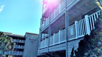 Atlantic Beach Condo/Townhouse For Sale: 2111 W Fort Macon Road #124