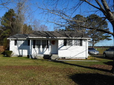 Greenville NC Single Family Home For Sale: $55,000