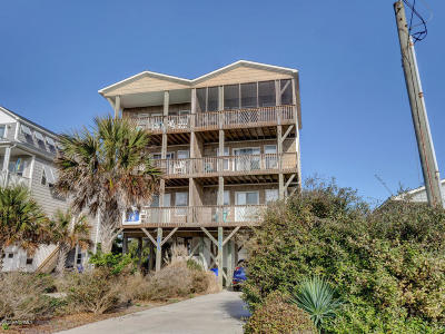 North Topsail Beach, Surf City, Topsail Beach Condo/Townhouse For Sale: 3021 Island Drive