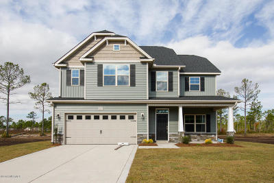 Sneads Ferry Single Family Home For Sale: 304 Sea Hunter Way