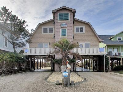 Holden Beach Single Family Home For Sale: 597 Ocean Boulevard W