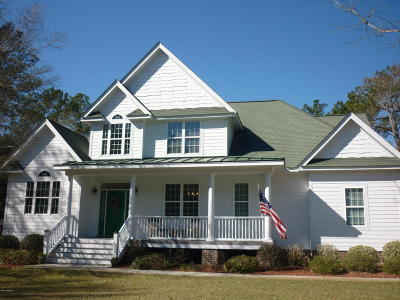 Newport Single Family Home For Sale: 340 Red Barn Road