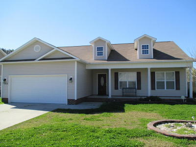 Swansboro Single Family Home For Sale: 102 Borough Nest Drive