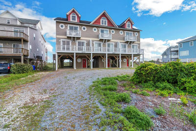 North Topsail Beach, Surf City, Topsail Beach Condo/Townhouse For Sale: 3872 Island Drive