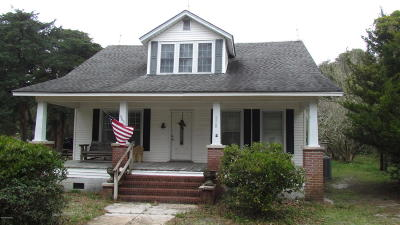 Atlantic NC Single Family Home For Sale: $194,000
