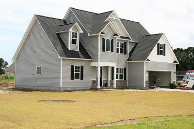 Sneads Ferry Single Family Home For Sale: 118 Bridgeport Drive