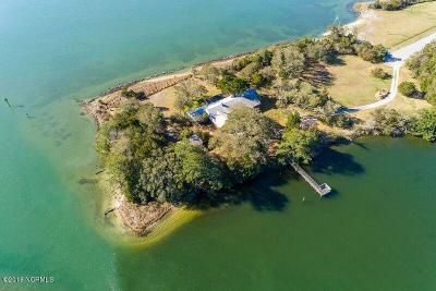 Morehead City Single Family Home For Sale: 4700 S Shore Drive