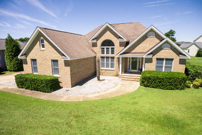 Newport Single Family Home For Sale: 504 Blue Heron Drive