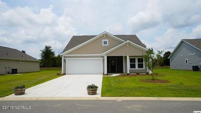 Calabash Single Family Home Active Contingent: 2102 Saybrooke Drive NW #Lot #128